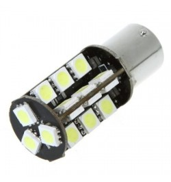 CAN Bus led izzó BA15S 5W 5050 27 SMD LED