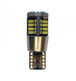 Can Bus led izzó 12V 3W T10 3014 40 SMD fehér