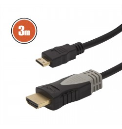 HDMI / Mini HDMI kábel 3 m