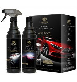 LOTUS Ceramic Detailing Kit 2x600 ml