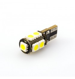Can Bus led izzó 12V 2.5W T10 5050 9 SMD fehér